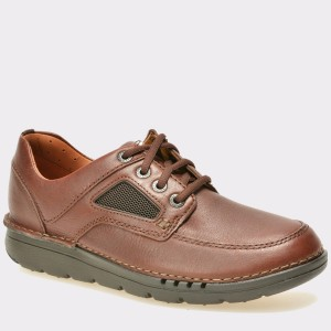 Pantofi CLARKS maro, 6128289, din piele naturala