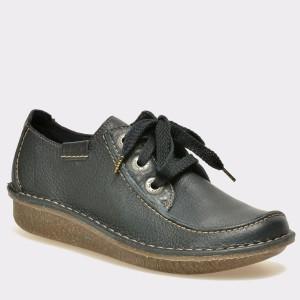 Pantofi CLARKS bleumarin, 301123, din piele naturala