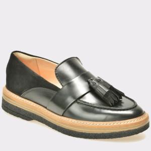 Pantofi CLARKS negri, 6126672, din piele naturala