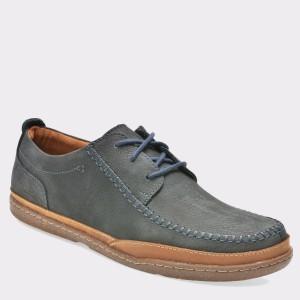 Pantofi CLARKS bleumarin, 6128152, din nabuc
