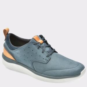 Pantofi CLARKS bleumarin, 6132295, din nabuc