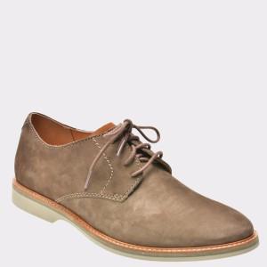 Pantofi CLARKS maro, 6131825, din nabuc