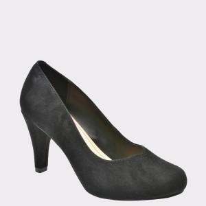 Pantofi CLARKS negri, 6132264, din piele intoarsa