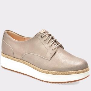Pantofi CLARKS mov, 6133818, din piele intoarsa