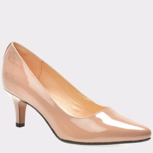 Pantofi CLARKS nude, 6130933, din piele ecologica