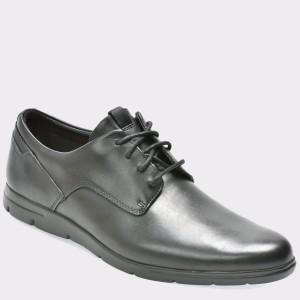 Pantofi CLARKS negri, 6131748, din piele naturala