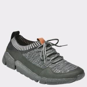 Pantofi sport CLARKS negri, 6133890, din material textil