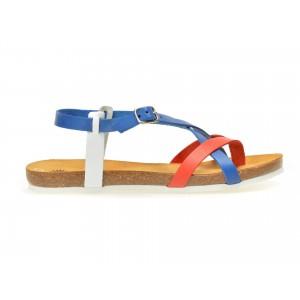 Sandale LA COMPANIA NATURAL multicolore, 17041, din piele naturala