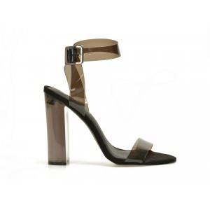 Sandale EPICA gri, GEMMA, din PVC