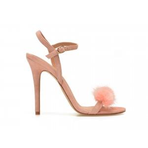 Sandale EPICA roz, SAYDEE, din piele intoarsa