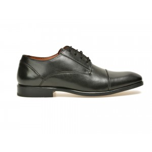 Pantofi negri, 5322193, din piele naturala