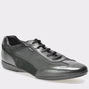 Pantofi GEOX negri, U620Ua, din piele naturala