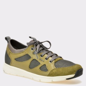 Pantofi sport GEOX kaky, U722Db, din piele naturala