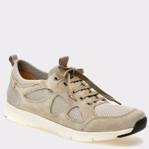 Pantofi GEOX nude, U722Db, din piele intoarsa
