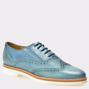 Pantofi GEOX albastri, D725Ag, din piele naturala