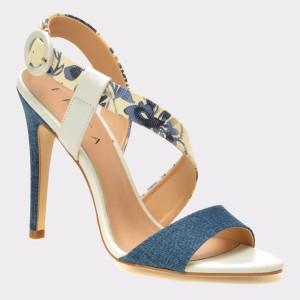 Sandale EPICA albastre, 967007, din piele ecologica