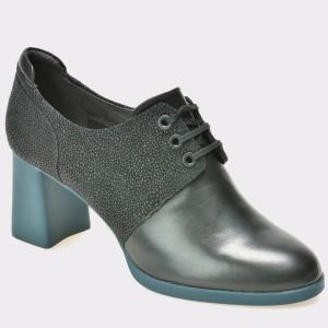 Pantofi CAMPER negri, K200522, din piele intoarsa