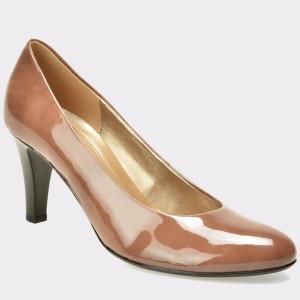 Pantofi GABOR maro, 75210, din piele ecologica lacuita