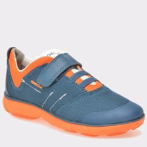Pantofi sport pentru copii GEOX albastri, J721TA9, din material textil