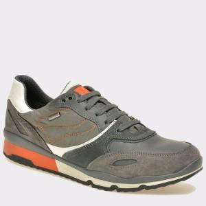 Pantofi sport GEOX gri, U44S7A, din piele intoarsa