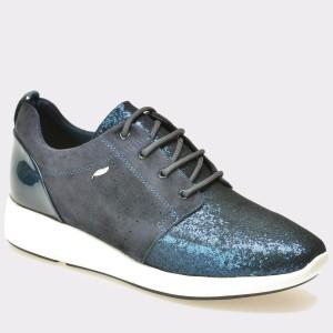 Pantofi GEOX bleumarin, D621Ca, din piele intoarsa