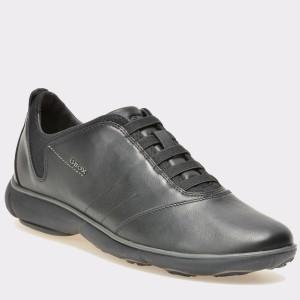 Pantofi GEOX negri, U52D7B, din piele naturala