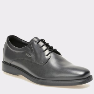 Pantofi GEOX negri, U54N1C, din piele naturala