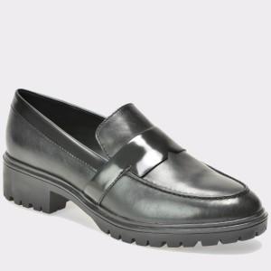 Pantofi GEOX negri, D640Gg, din piele naturala