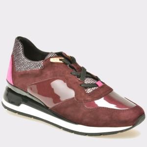 Pantofi GEOX visinii, D44N1A, din piele ecologica