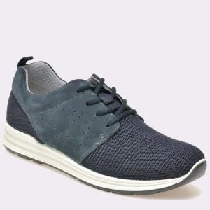 Pantofi IMAC bleumarin, 71151, din material textil