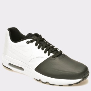 Pantofi sport NIKE AIR MAX 1 ULTRA 2.0 SE alb-negru, 875845, din piele ecologica