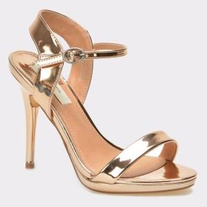 Sandale PEPE JEANS aurii, Ls90277, din piele ecologica