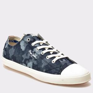 Tenisi Pepe Jeans MS3033 albastri, din material textil