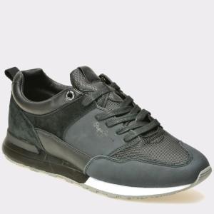 Pantofi PEPE JEANS negri, Ms30381, din piele naturala