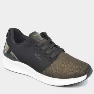 Pantofi PEPE JEANS negri, Ls30550, din material textil