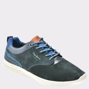 Pantofi sport PEPE JEANS bleumarin, Ms30409, din piele naturala