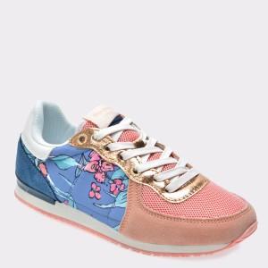 Pantofi sport pentru copii PEPE JEANS multicolori, Gs30346, din material textil