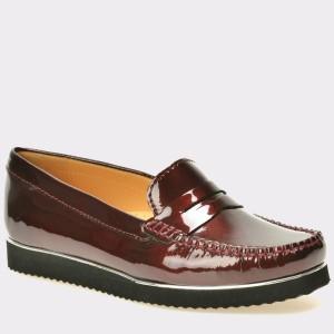 Pantofi OTTER visinii, 7001, din piele naturala lacuita