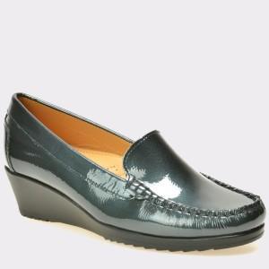 Pantofi OTTER bleumarin, 2200, din piele naturala lacuita