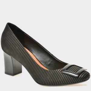 Pantofi EPICA negri, 7611262, din nabuc