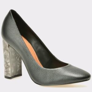 Pantofi EPICA negri, 7497380, din piele naturala