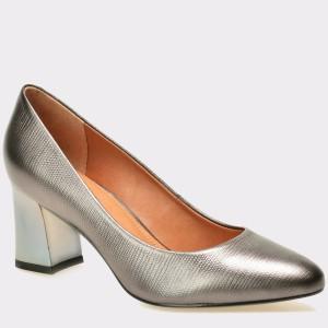 Pantofi EPICA gri, 7692401, din piele naturala