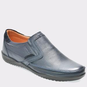 Pantofi OTTER bleumarin, 220, din piele naturala