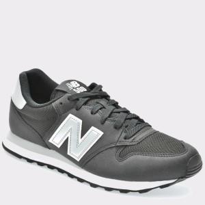 Pantofi sport NEW BALANCE negri, Gm500, din piele ecologica