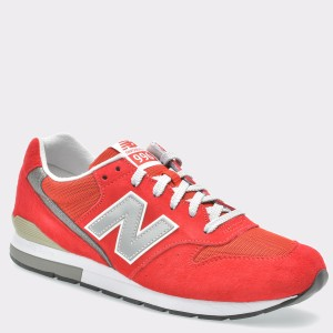 Pantofi sport NEW BALANCE rosii, Mrl996, din piele intoarsa