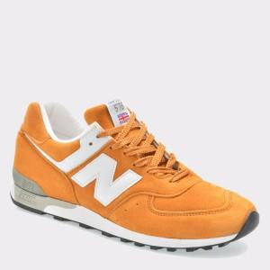 Pantofi sport NEW BALANCE galbeni, M576, din din piele intoarsa