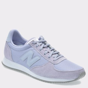 Pantofi sport NEW BALANCE mov, Wl220, din piele intoarsa