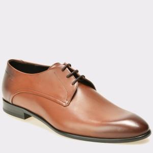 Pantofi HUGO BOSS maro, 140, din piele naturala