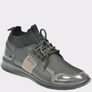 Pantofi sport HUGO BOSS negri, 9300, din material textil