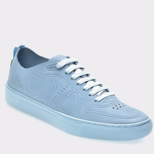 Pantofi sport HUGO BOSS albastri, 56119, din piele ecologica